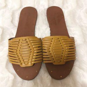Madewell Huarache slide Sandals